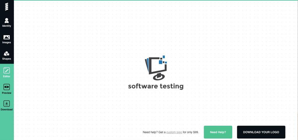 GraphicsSprings Testing Logo