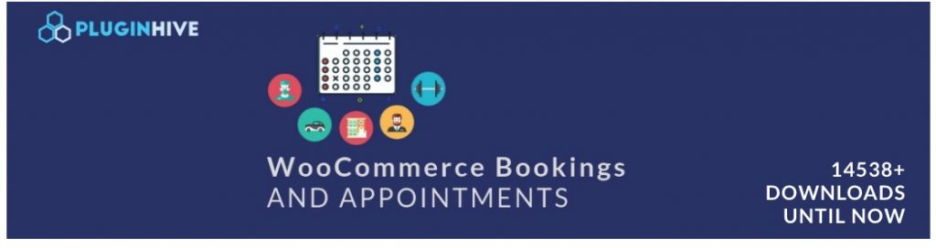 WooCoommerce Bookings and Appointments