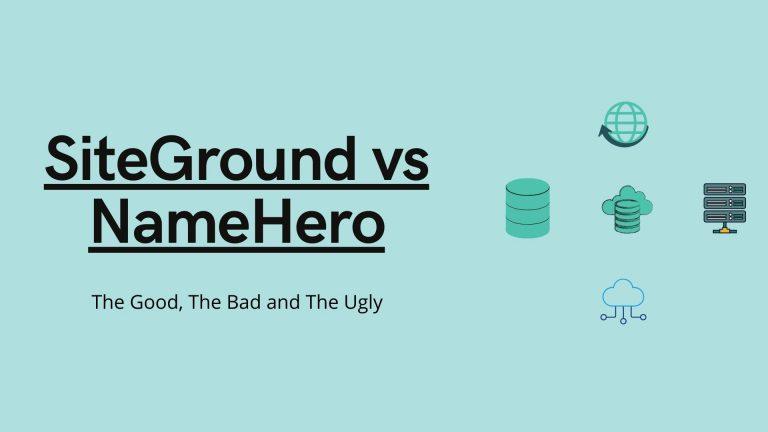 SiteGround vs NameHero