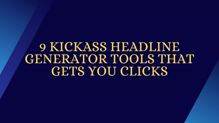 HeadLine Generators