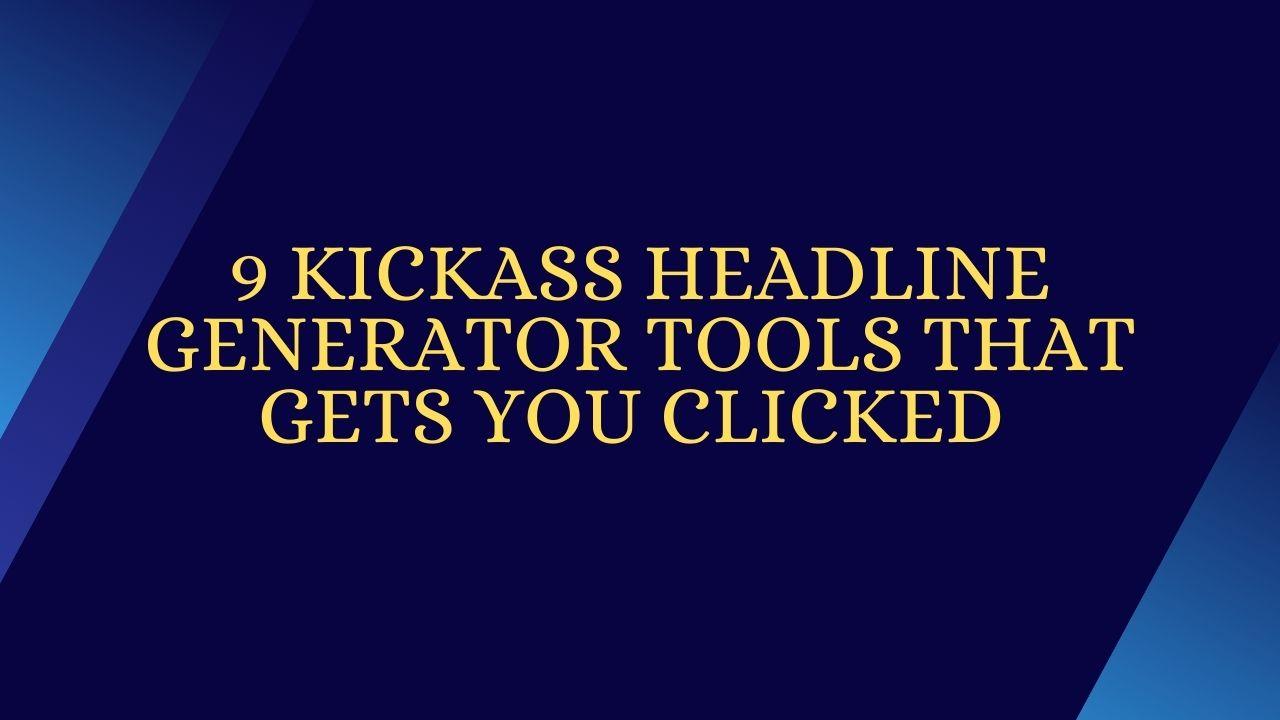 HeadLine Generator Tools