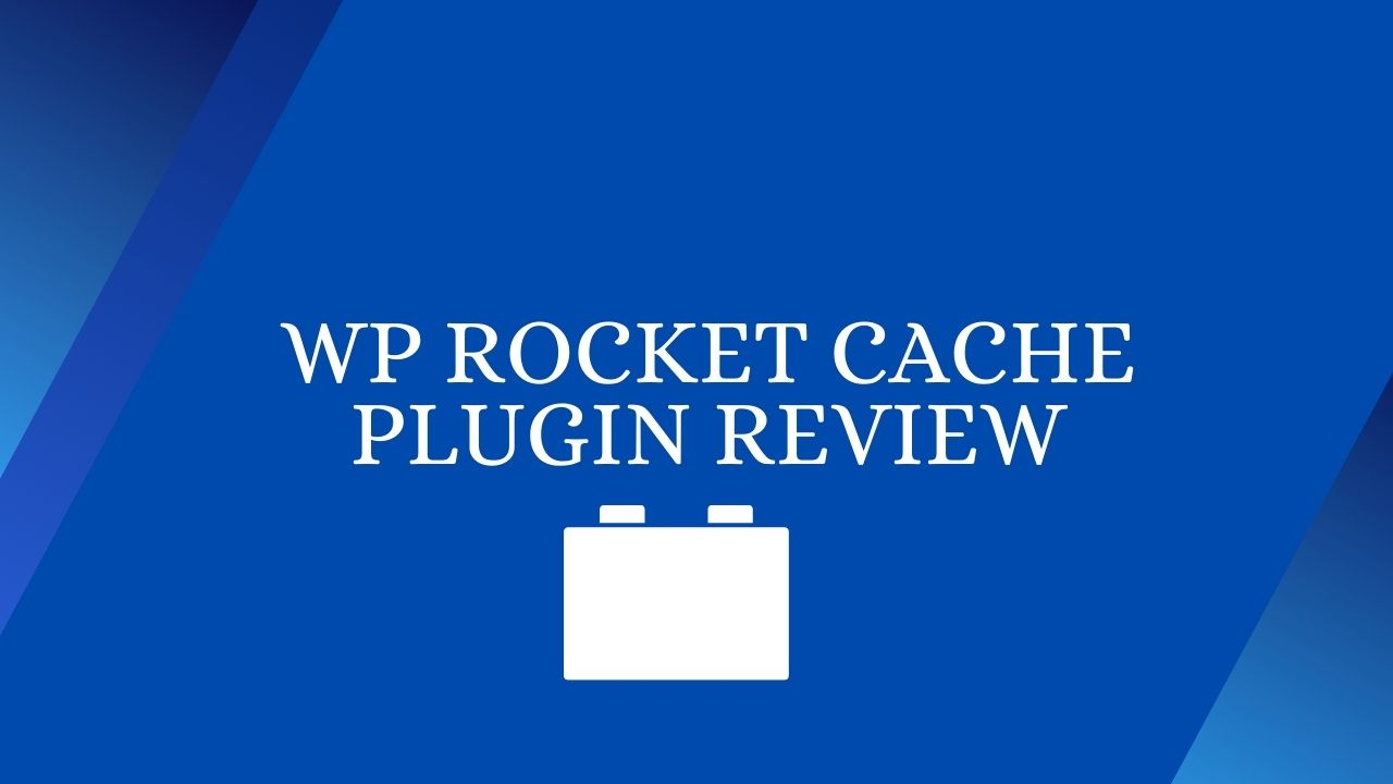 WP Cache Plugin Review