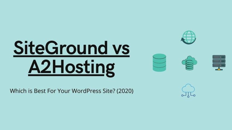 Siteground vs A2Hosting