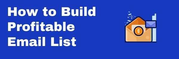 Build Profitable email list